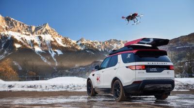 land-rover 無人機 空拍 紅十字會