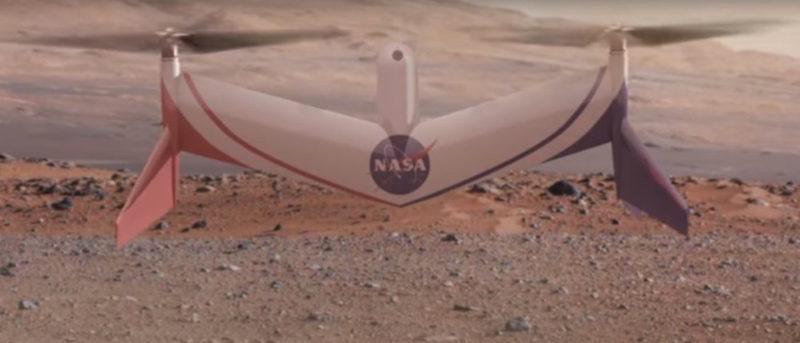 mars-drone 火星 無人機 NASA