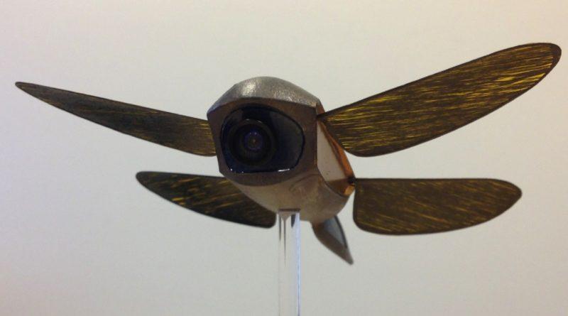 Skeeter微型無人機借鏡蜻蜓