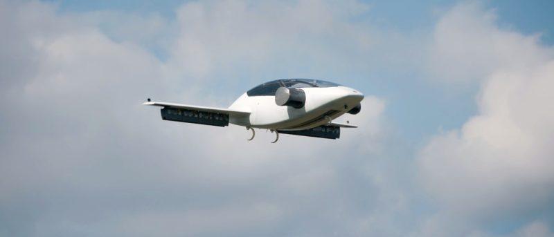 Lilium Jet 空中計程車原型試飛成功