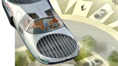 Urban Aeronautics CityHawk 概念圖
