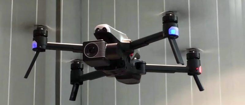 Walkera Vitus 折疊無人機擁三方自動避障功能