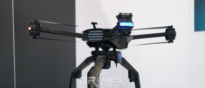 XDynamics D-02 無人機劍指影視製作•商用市場