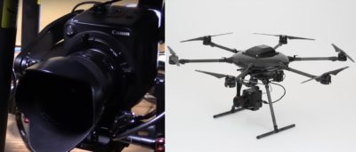 Canon首台無人機降世!擁400萬ISO超高感光度