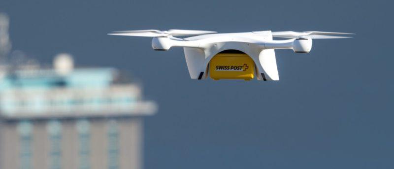 瑞士郵政試飛無人機運送實驗室樣本