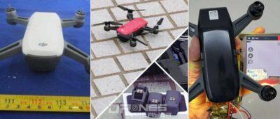 DJI Spark 發表前夕最新諜照:紅•白•黑三色無人機
