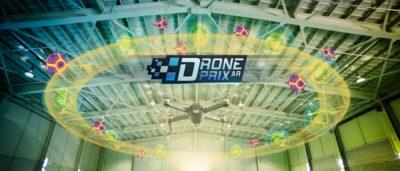 讓 Mavic Pro 穿越 Drone Prix 的虛擬賽道!