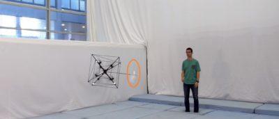 Omnicopter 無人機展現神級接球能力