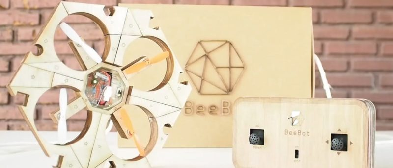 Beebot Drone 化身畫板讓小朋友 DIY 組裝和塗繪