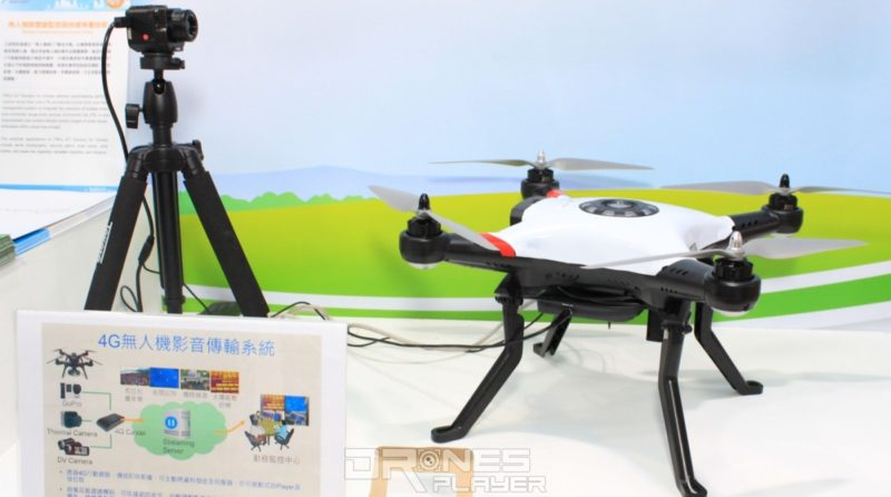Computex 2017 直擊 美國遙距操作台灣 4G 無人機