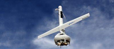 V-BAT 無人機如火箭垂直起飛 大型導風扇兼具垂直升力•水平推力