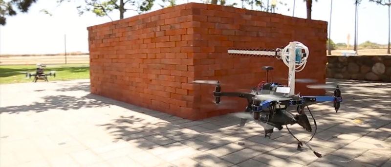 利用 Wi-fi 和無人機隔牆 3D 成像