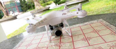 HR SH5HD 無人機航拍性能評測