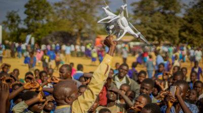 UNICEF 馬拉威試飛無人機