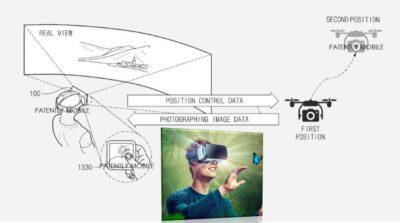 新一代 Gear VR 眼鏡可體感操作無人機