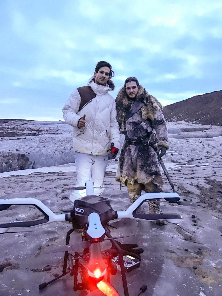 AceCore NEO,與 CEO Jorrit Linders 及 Jon Snow 演員 Kit Harington