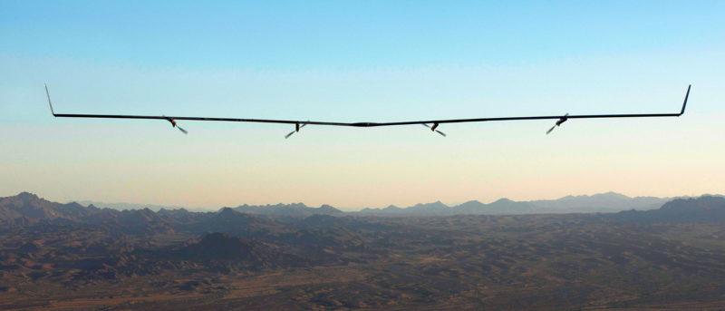 Facebook Aquila 無人機 - 第二次飛行成功