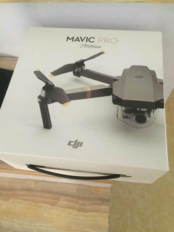 傳聞 DJI Mavic Pro Platinum 外盒