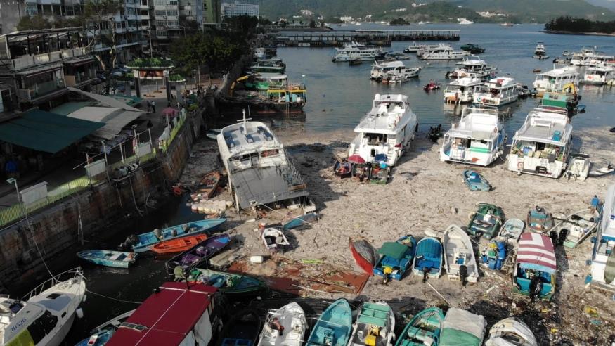 SaiKung after typhoon (2)
