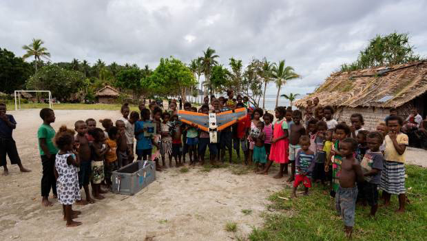 Solomon Islands' village
