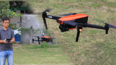 Autel Evo 試玩評測:4K 拍攝摺叠無人機另類選擇