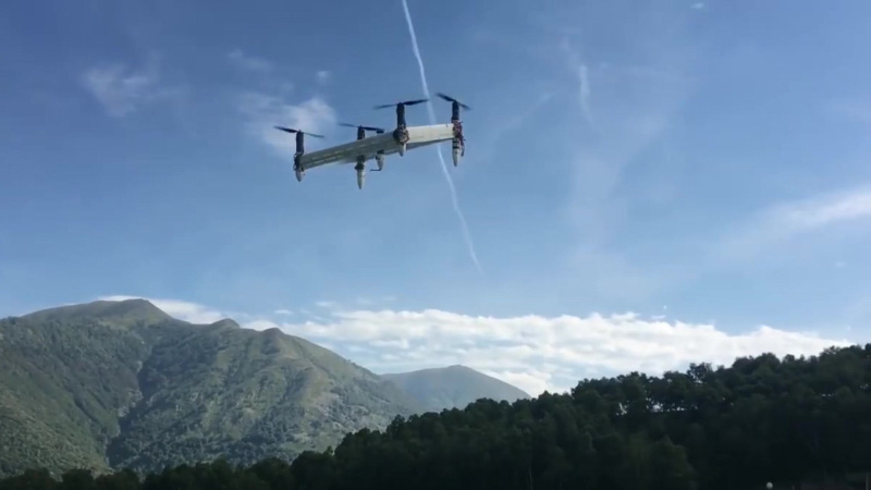 無人機取代傳統塔式風力發電機 研高空發電另類方法