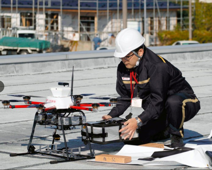 Japan post drone 2