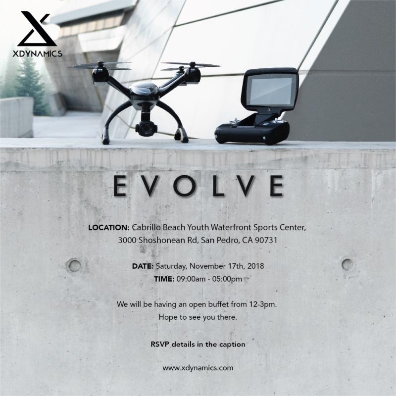 港產航拍機 XDynamics Evolve 杜拜起航 將在美辦試飛活動