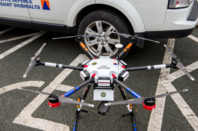 Civil Defence drone