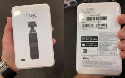 DJI Osmo Pocket 產品包裝也曝光 擠掉 Phantom 5 面世可能性?