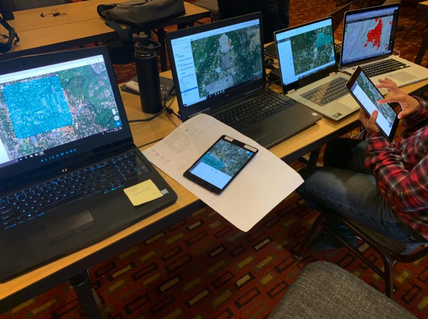 史上最大型! 16 無人機隊空中測繪 收集加州大火數據助救災