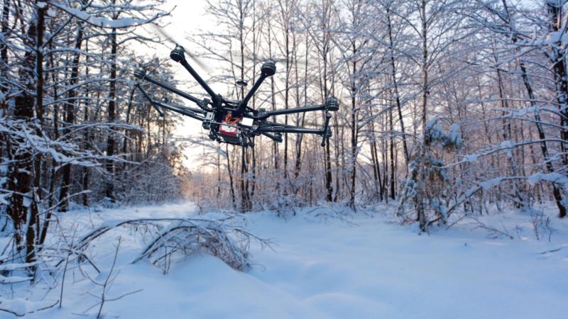 無人機「貼膜」有望助高空防冰 啟發者竟然只是一片小竹葉