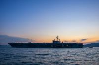 美核動力航母「列根號」抵港 民航處一連 5 日設臨時禁飛區