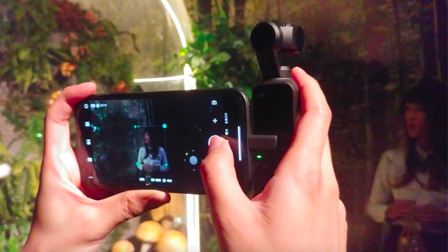 DJI Osmo Pocket 深入評測:3 軸機械防震、人臉跟隨真夠強大?