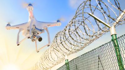 電子安全顧問向監獄空投違禁品 不當使用無人機被控