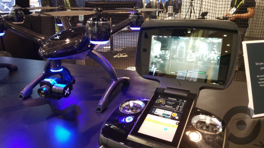 【CES 2019】XDynamics 航拍機可搭載紅外熱像相機 CEO 與 AI 猛人約見