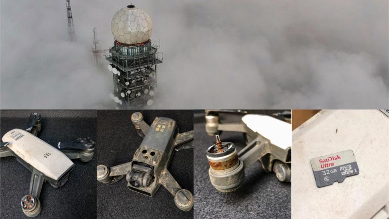 DJI Spark 大帽山「走機」 16 個月後重現 最後照片奇蹟「生還」