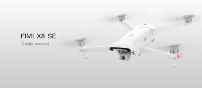 FIMI X8 SE 可摺疊 4K 航拍機 接受預訂 實測拉距逾 6 公里