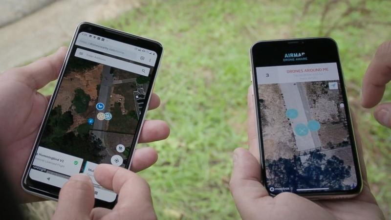 打破無人機供應商界限! 一個程式告訴你附近有什麼航拍機飛行