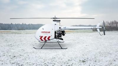 加國無人機負重 180 公斤 飛行時速 120 公里