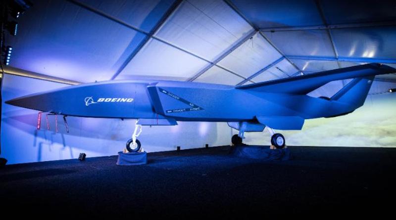 澳波音公司研製造自主軍用無人機 預想圖公開