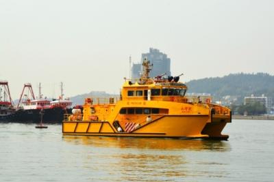 澳門舉行海上事故應急演習 海關派無人機搜救墮海人士