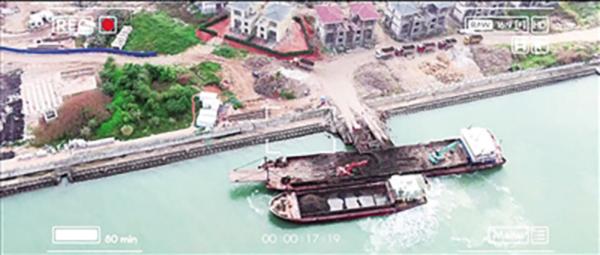 奧遊客航拍三峽壩被警告 海口警方用無人機查非法傾廢