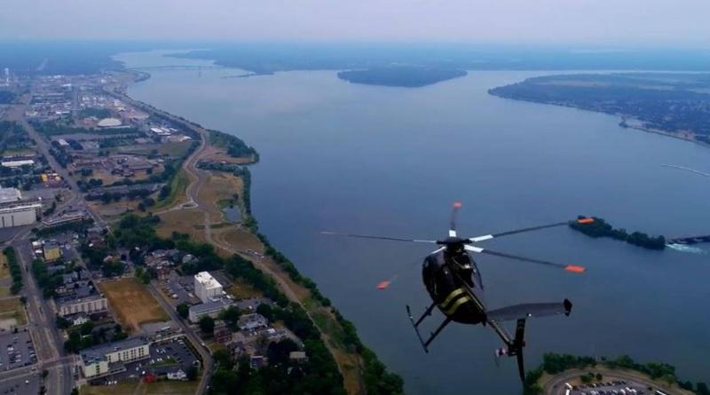 無人機與直昇機的危險距離 操作員發文認錯