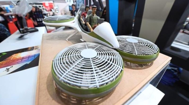 馬來西亞新型無人概念飛行載具現身海空展 預計本年 6 月試飛