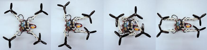 「變形」無人機因應飛行環境自動摺疊機臂 優化能源效益