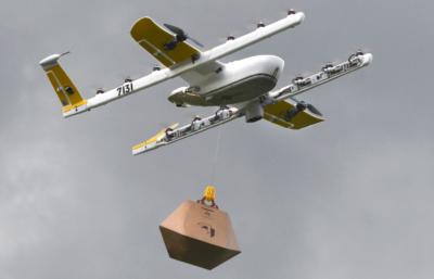 Alphabet 旗下公司 Wing 取得美國首個無人機配送服務許可