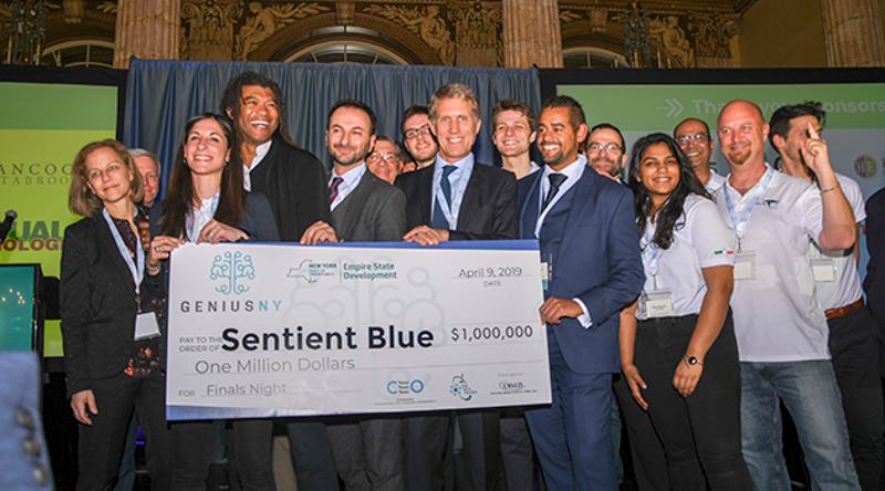 Genius NY 無人機科技賽贏家出爐 意大利公司憑發動機奪 100 萬美元大獎
