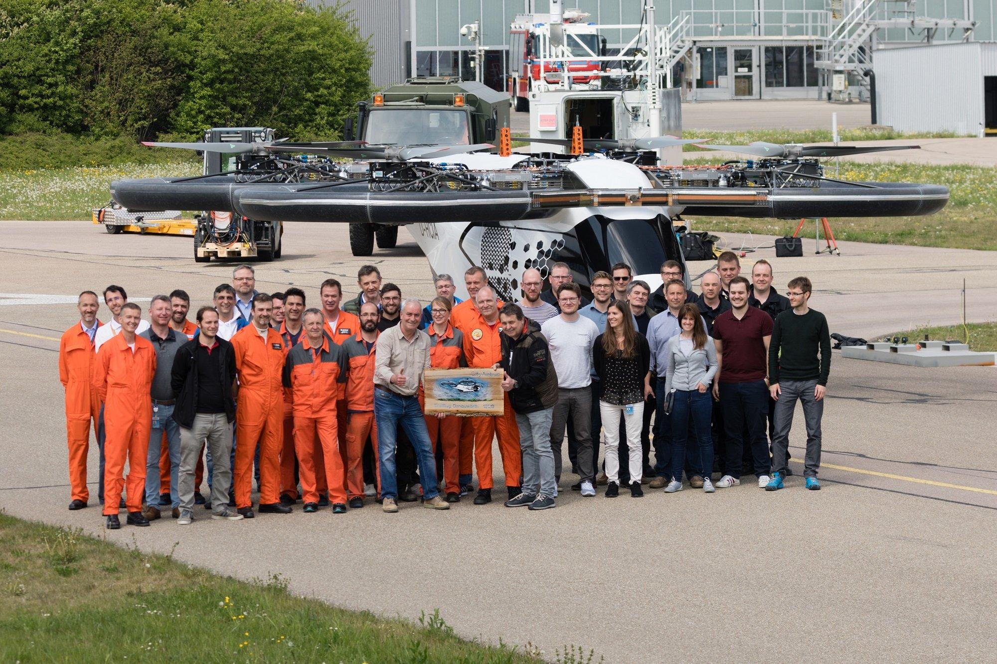 德國首飛測試成功! 空巴 CityAirbus 原型機邁向新里程碑