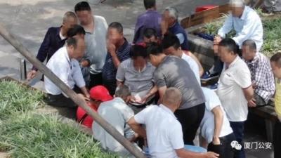 廈門公安派無人機巡查搜證 助掃蕩聚賭拘 17 人